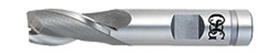 OSG5226600 21//64 Double-End Square-End Cobalt HSS End Mill 2-Flute OSG 5226600 Series 522 Bright Finish PART NO